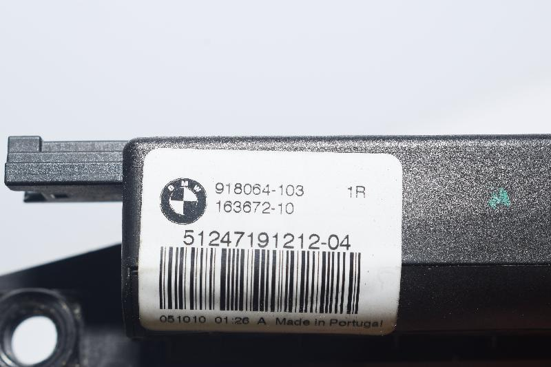 BMW 5 (F10) Galinio dangčio spyna 7191212 4513868