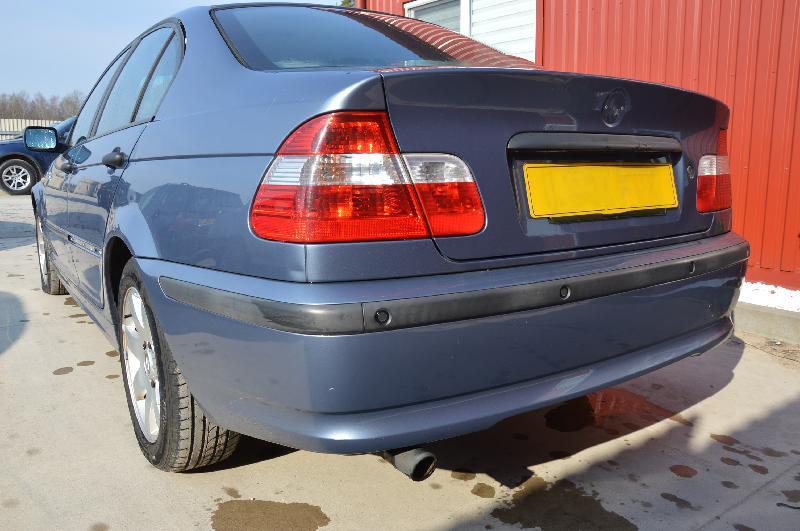 BMW 3 (E46) Galinis dangtis PABRAIZYTAS. 1826760