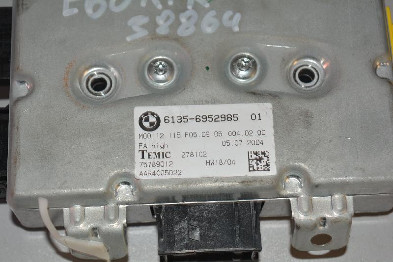 BMW 5 Touring (E61) Priekinių kairių durų valdymo blokas 6952985 1883134