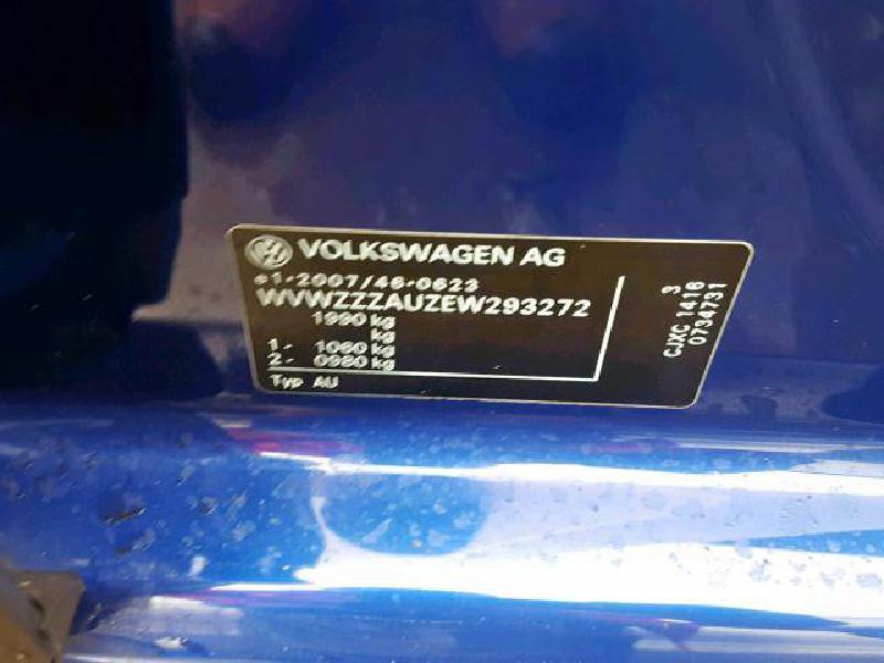 VW GOLF VII (5G1, BE1) Kitos salono detalės 5G0868223B 4880582