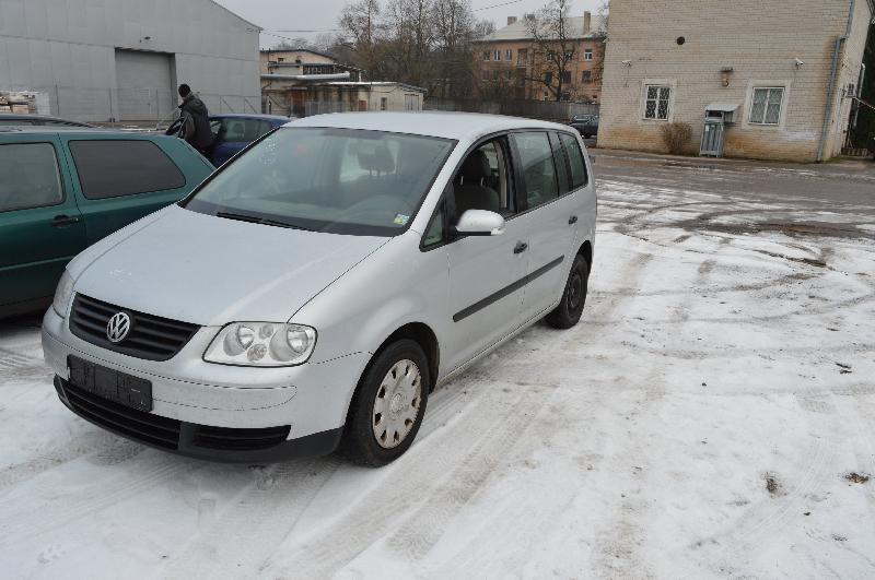 VW TOURAN (1T1, 1T2) Galinis dešinys bamperio laikiklis 1T0807376 2782931