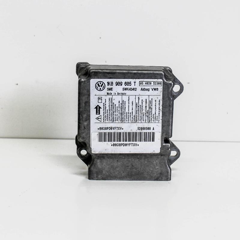 VW GOLF V (1K1) SRS kompiuteris 1K0909605T 2831316