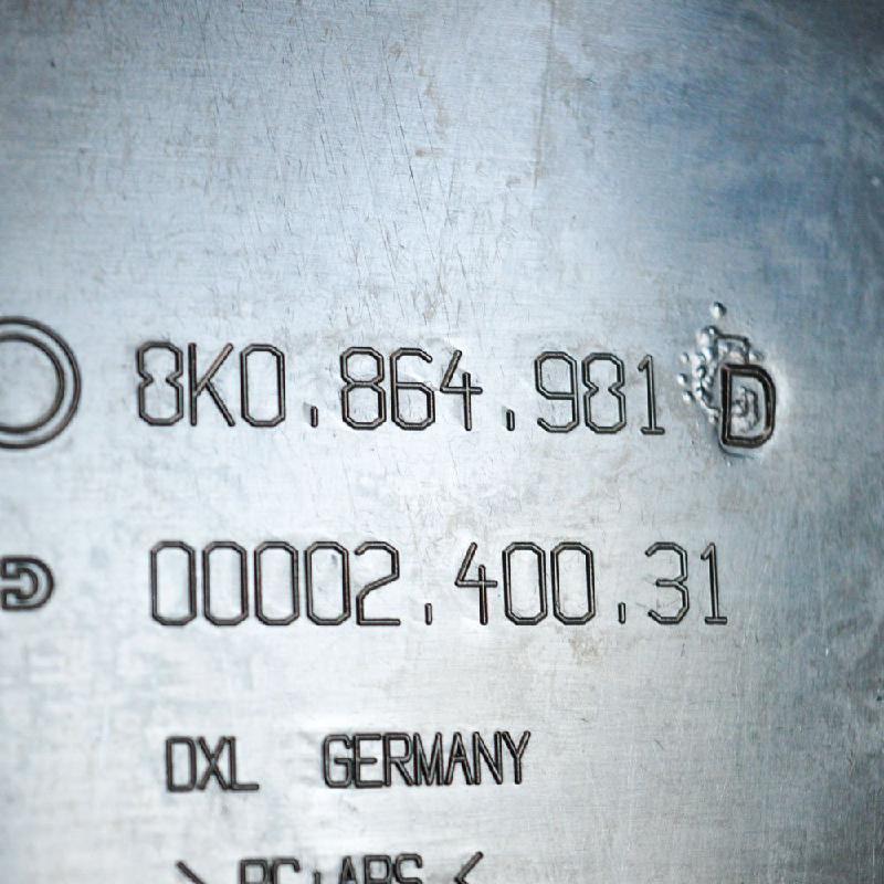 AUDI A4 (8K2, B8) Kitos salono detalės 8K0864981D 2893878