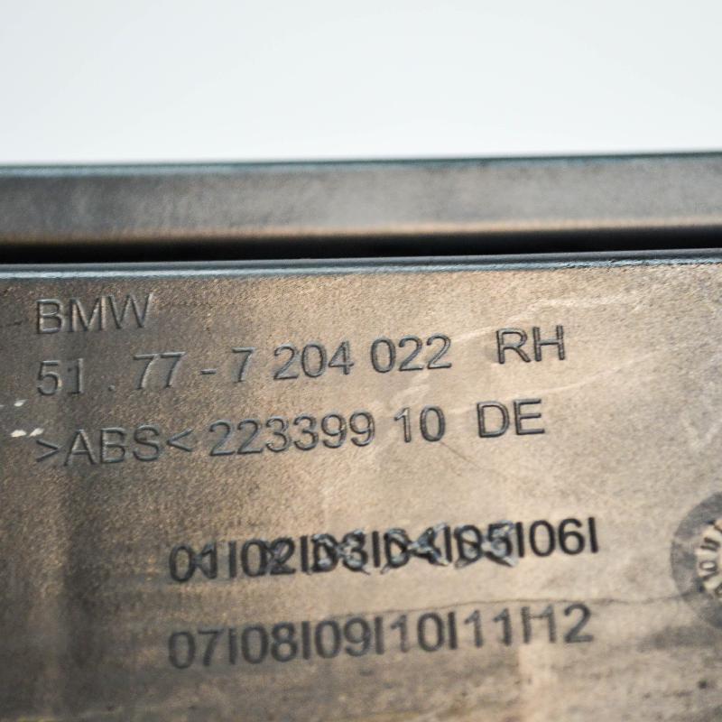 BMW 5 (F10) Kitos kėbulo detalės 7204022 3534956