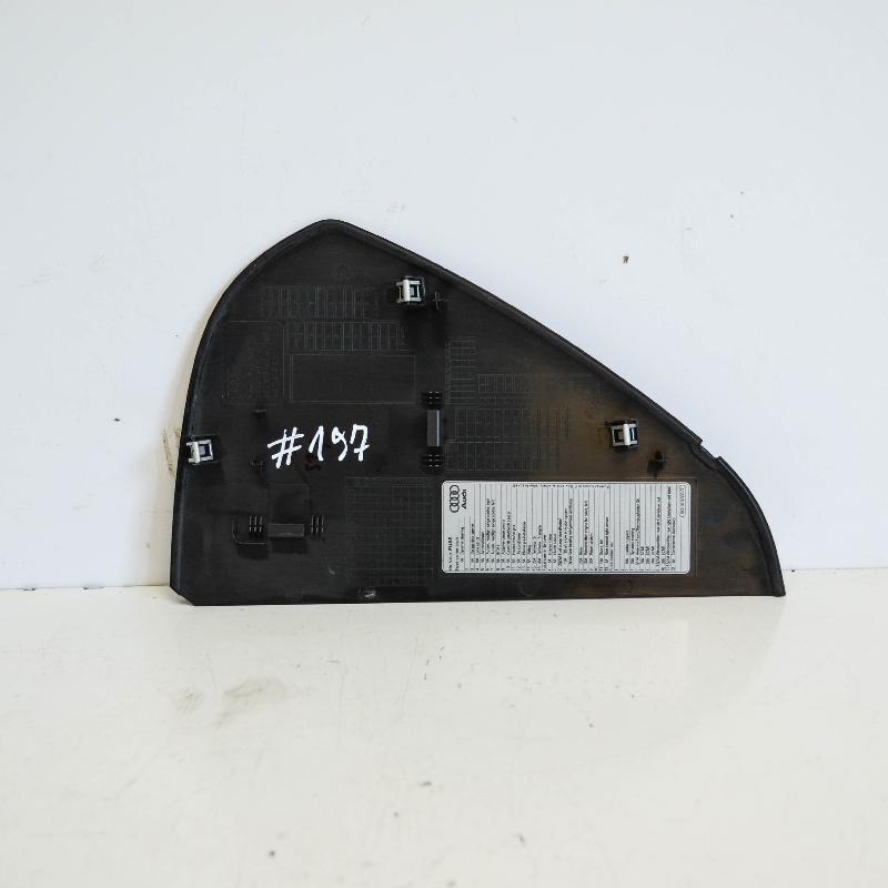 AUDI A4 (8K2, B8) Kitos salono detalės 8K0857086A 3850016
