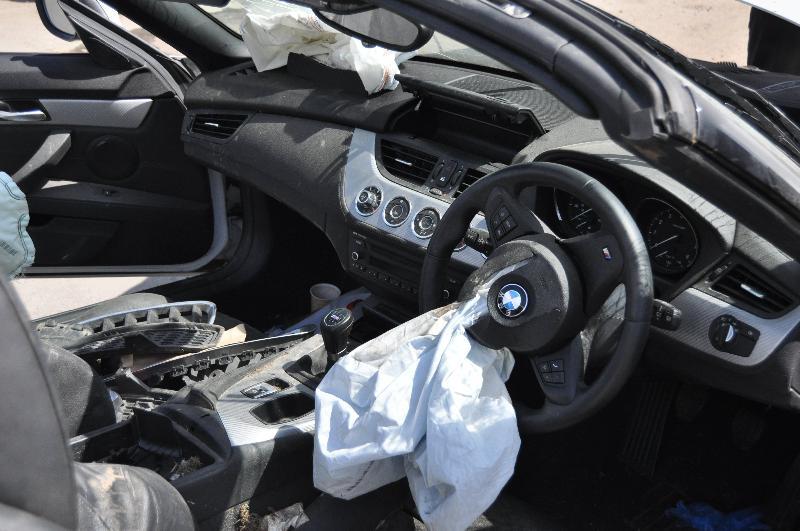 BMW Z4 ROADSTER (E89) Priekinių valytuvų apdailos plastmasė 7194777 1912762