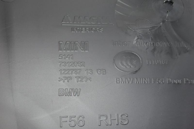 MINI MINI Convertible (F57) Priekinių kairių durų apmušimas 7312062 2091029