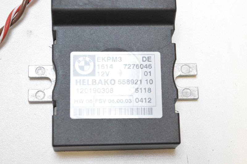 BMW Z4 ROADSTER (E89) Управление топливным насосом 7276046 2634715