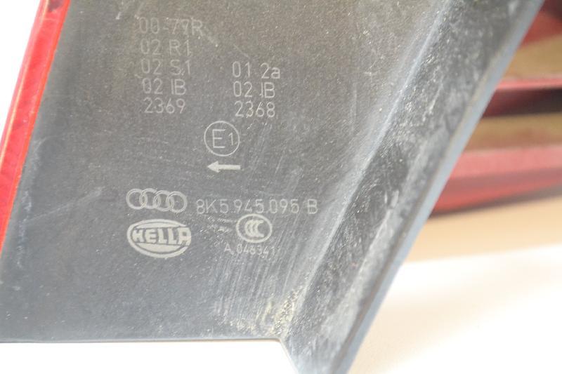 AUDI A4 (8K2, B8) Galinis kairys žibintas 8K5945095B 2667987