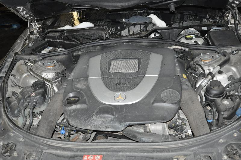 MERCEDES-BENZ CL-CLASS Coupe (C216) Dešinė saulės apsauga A2218100210 2874985