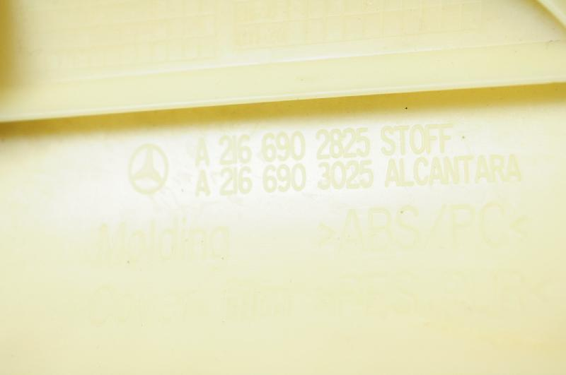 MERCEDES-BENZ CL-CLASS Coupe (C216) Galinė dešinė statramščio apdaila A2166902825 2875150