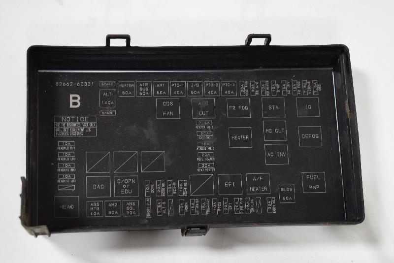 Toyotum Fuse Box 120