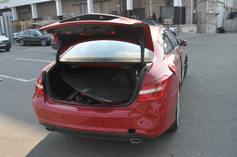 MERCEDES-BENZ E-CLASS Coupe (C207) Kitos kėbulo detalės A2076930233 3909789
