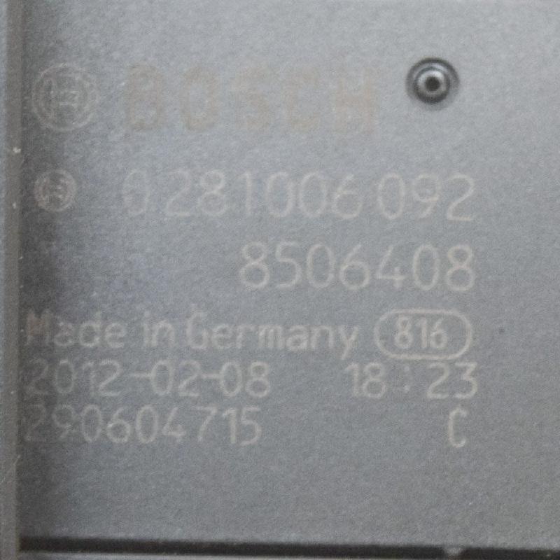 BMW 5 (F10) Oro srauto matuoklė 8506408 0281006092 4309512