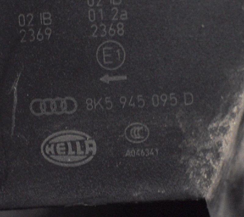 AUDI A4 (8K2, B8) Galinis kairys žibintas 8K5945095D 1070029