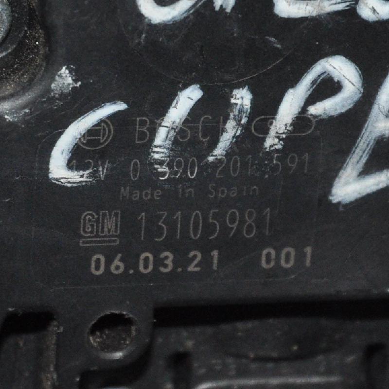 OPEL ASTRA H (L48) Galinio dangčio valytuvo kojelė 13109107 2182036
