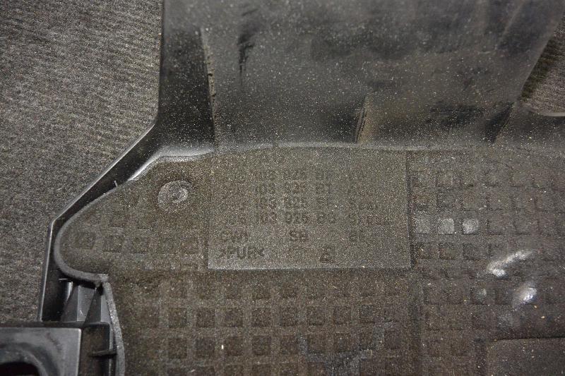 SKODA OCTAVIA (1Z3) Variklio dekoratyvinė plastmasė 09G103925BF 1800971