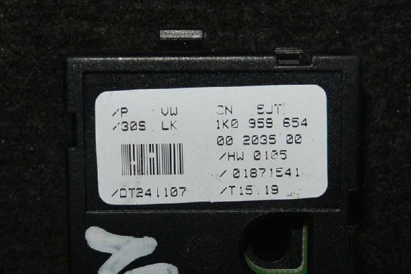 SKODA OCTAVIA (1Z3) Vairo padeties daviklis 1K0959654 1801969