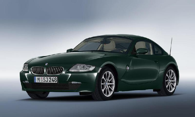 BMW Z4 Coupe (E86) Kitos salono detalės 3421582 2499847