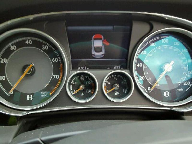 BENTLEY CONTINENTAL Coupe (3W_) Priekinis dešinys amortizatorius 3W8616040C 2598537