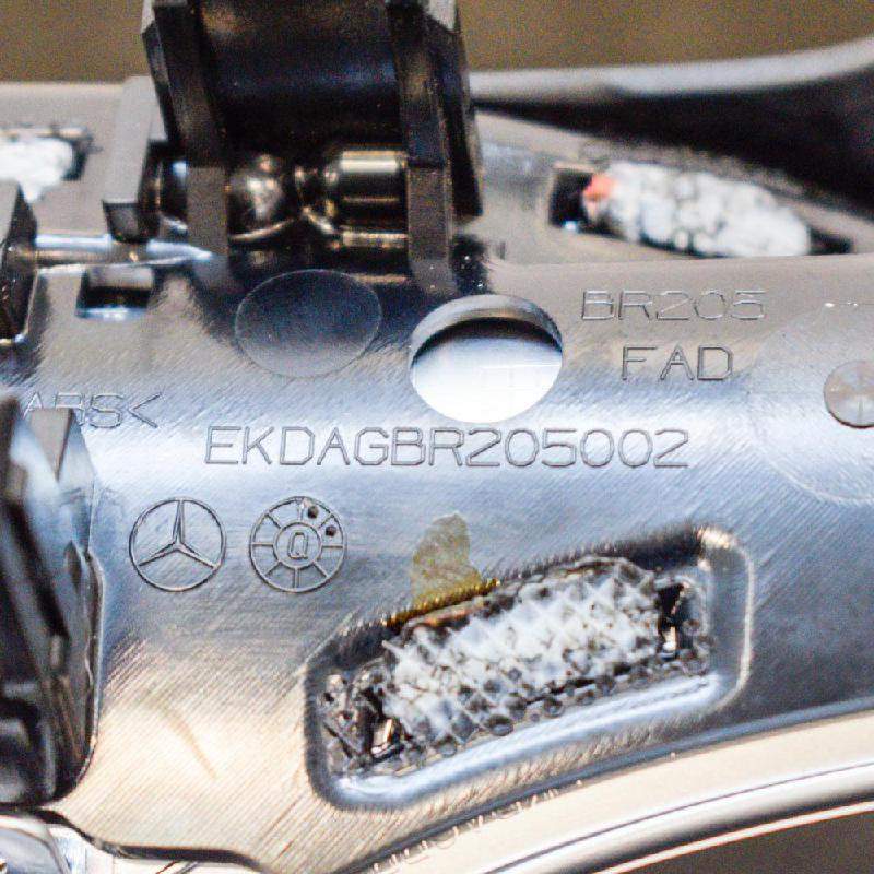 MERCEDES-BENZ C-CLASS (W205) Kitos apdailos detalės EKDAGBR205002 3293445