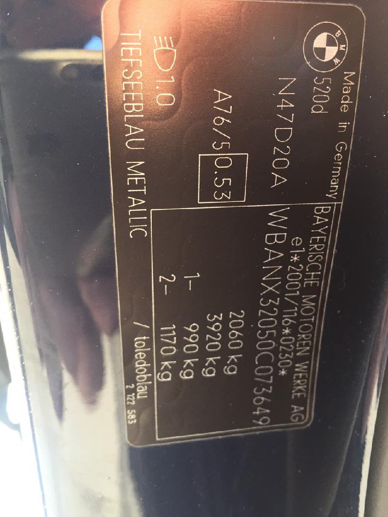 BMW 5 (E60) Automobilis C073649 3405613