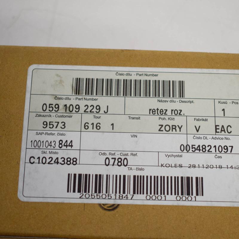 AUDI A4 (8K2, B8) Kitos variklio skyriaus detalės 059109229J 3577941