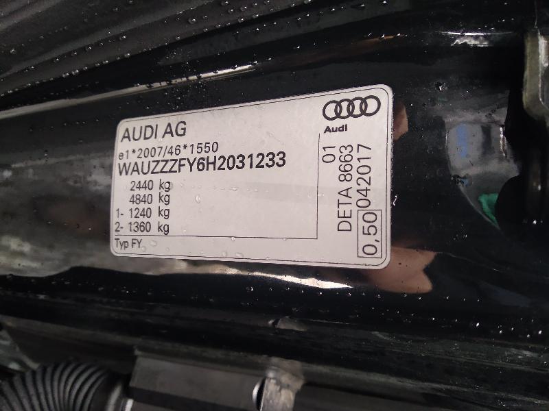 AUDI Q5 (80A) Galinės kairės durys 80A833021A 3653327