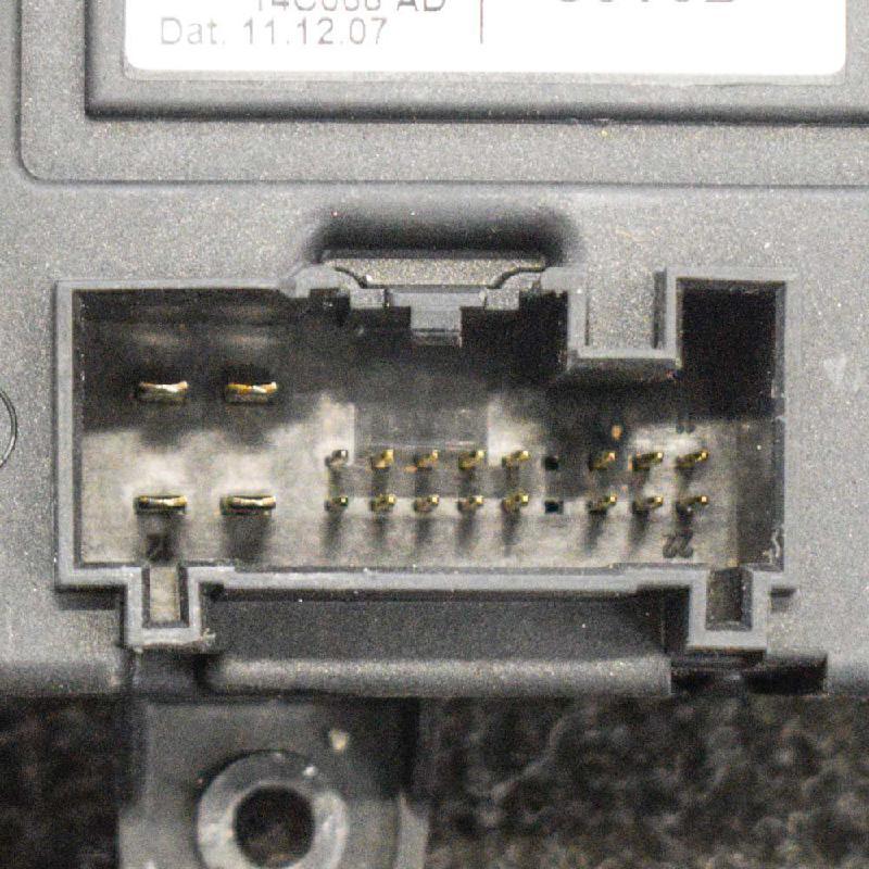 VOLVO V70 III (BW) Galinių kairių durų valdymo blokas 7G9T-14B534-BD0507918200 3684237
