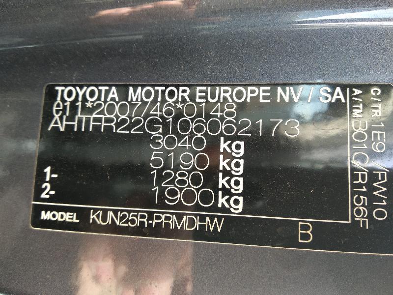 TOYOTA HILUX VII Pickup (_N1_, _N2_, _N3_) Automobilis AHTFR22G106062173 3797362