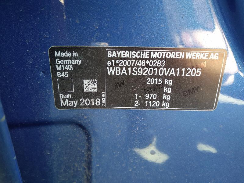 BMW 1 (F20) Galinis kairys amortizatorius 68809456864452 3837733