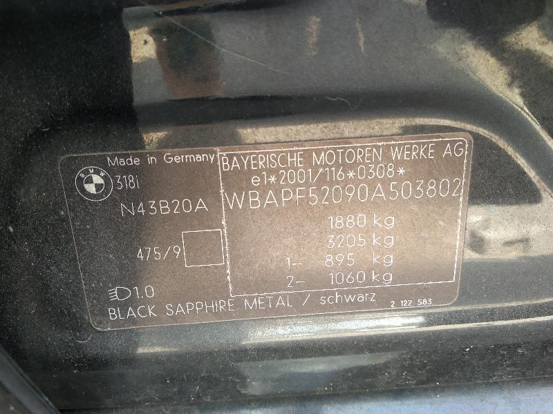 BMW 3 (E90) Galinio dangčio ženkliukas 8132375 4234588