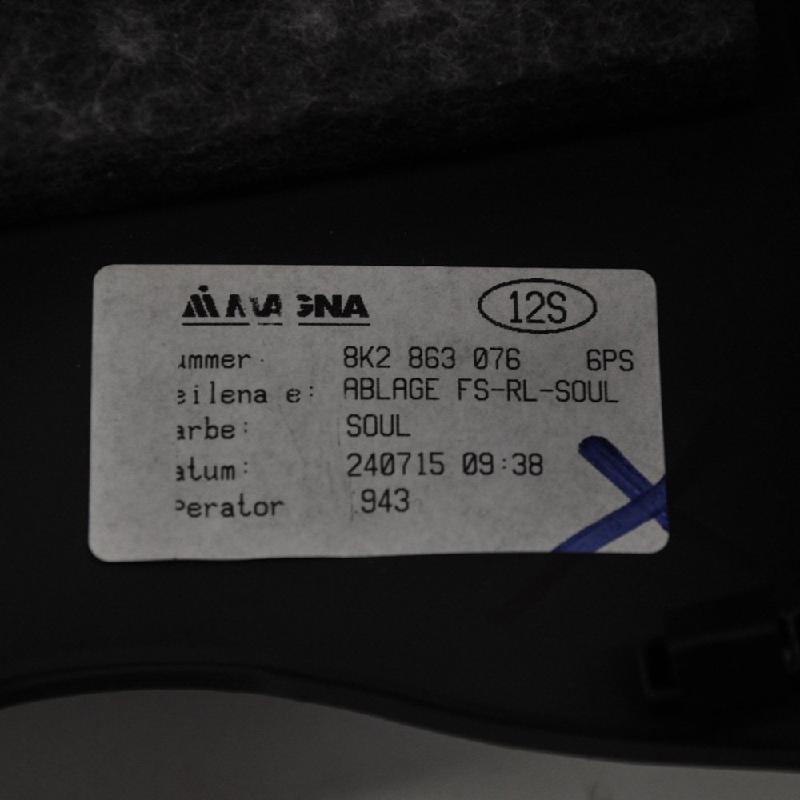 AUDI A4 (8K2, B8) Kitos salono detalės 8K2863076 3850863
