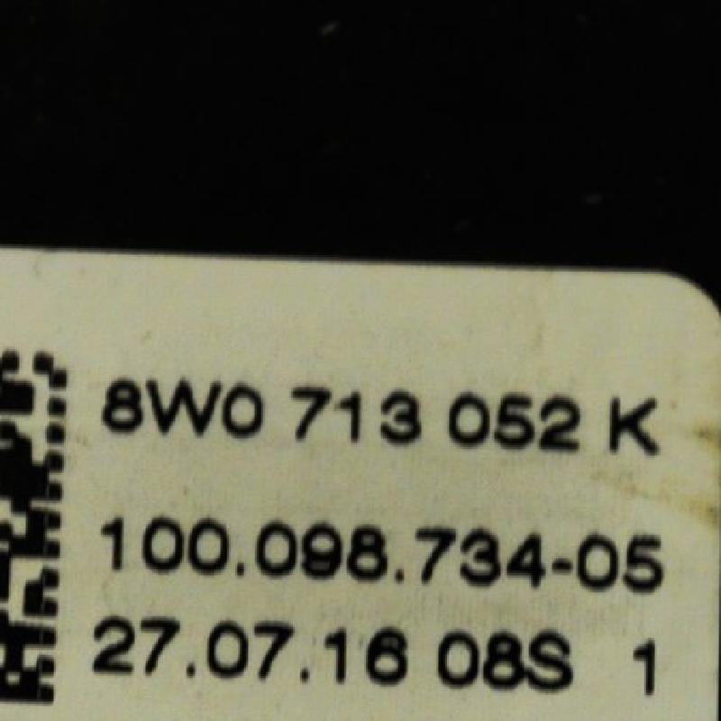 AUDI A4 (8K2, B8) Kiti valdymo blokai 8W0713052K 3850926