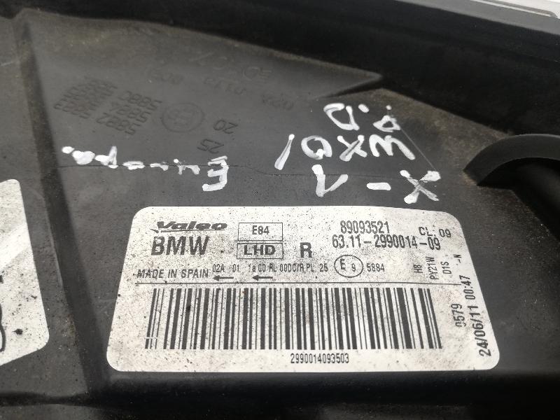 BMW X1 (E84) Priekinis dešinys žibintas 89093521 4704006
