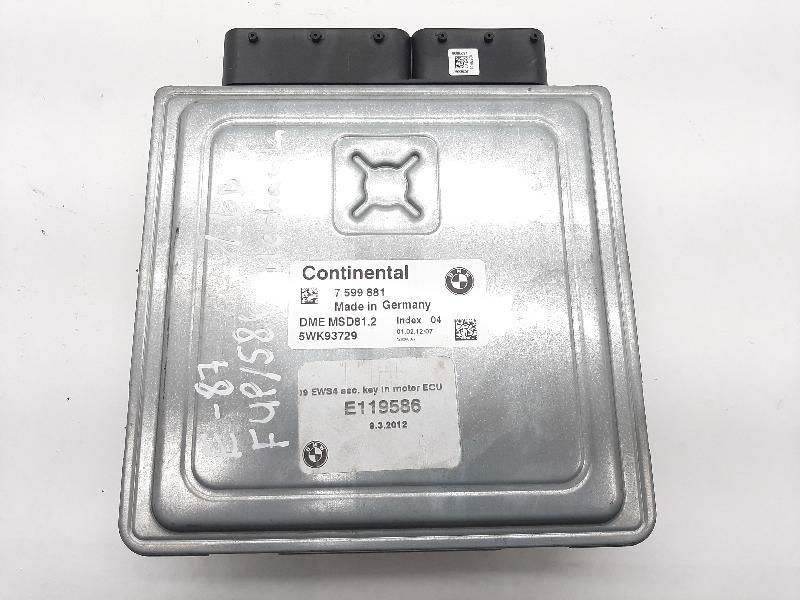 BMW 1 (E87) Variklio kompiuteris 7599881 5096051