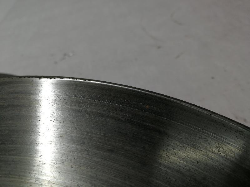 MERCEDES-BENZ B-CLASS (W246, W242) Priekinis kairys stabdžių diskas 2654014