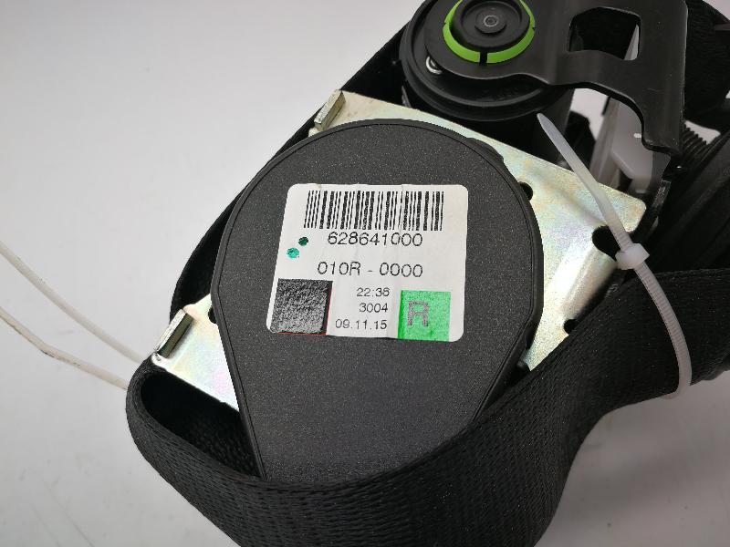 BMW 5 (F10) Priekinis dešinys saugos diržas 628641000 3971719